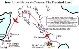 Joqraafiga safarkii Ibraahiim