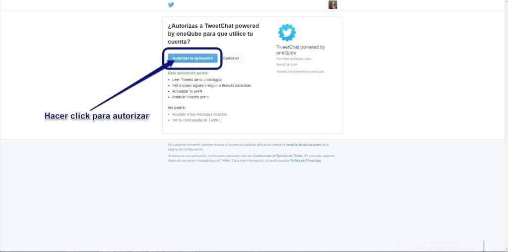 Tweetchat2- Twitter chats en español