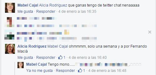 Comunidad #SoMeChatES Mabel Cajal