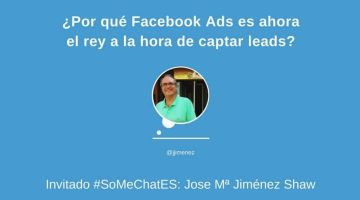 ¿Cómo captar leads con Facebook  Ads? Twitter chat