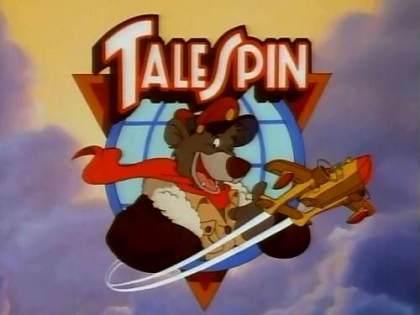 Desenhos animados anos 90 - Talespin