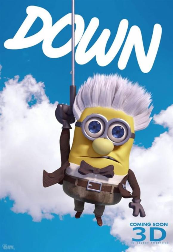 Minions fantasiados - Up