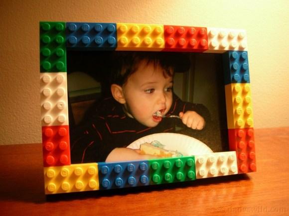 Porta retrato de Lego (1)