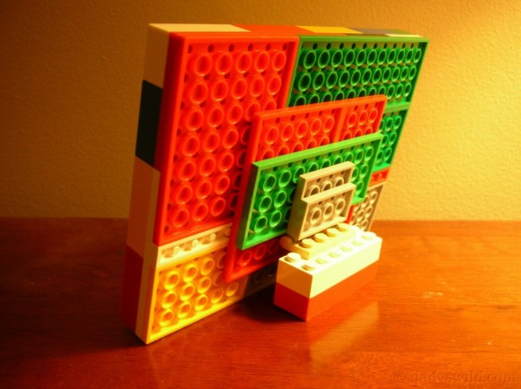 Porta retrato de Lego (2)