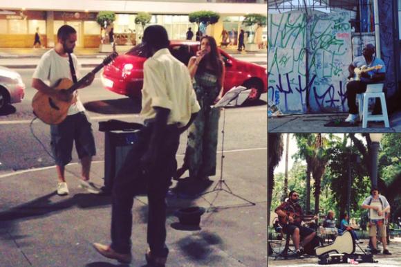 Street minidocs - Arte de rua - Música
