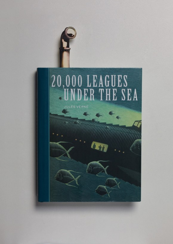 Marcadores de página - 20 mil léguas submarinas