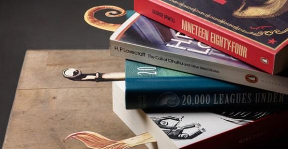 Marca-páginas temáticos fazem as histórias saltarem dos livros