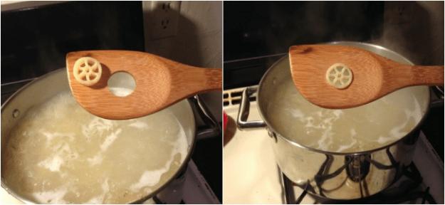 macarrao e colher