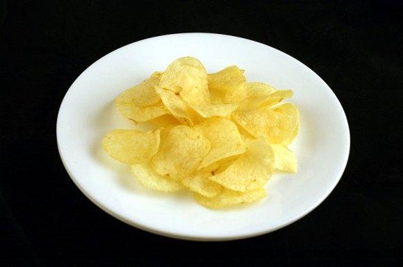 37 gramas de batata ondulada