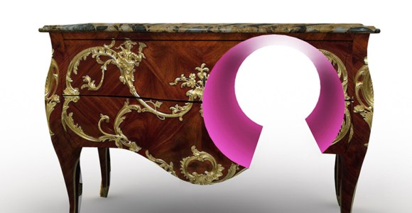 Designer extrapola na fusão do clássico com o moderno em seus móveis