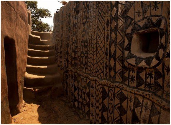 Casas pintadas - aldeia Tiebele (9)