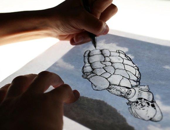 Formas em nuvens 2