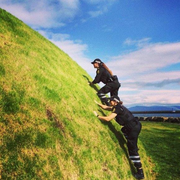 Polícia de Reykjavík - Islândia 6