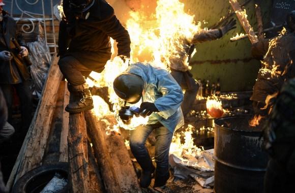 """""""TOPSHOTS 2014-UKRAINE-POLITICS-UNREST"""""""