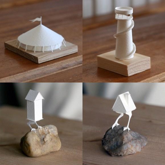 Esculturas de papel 2