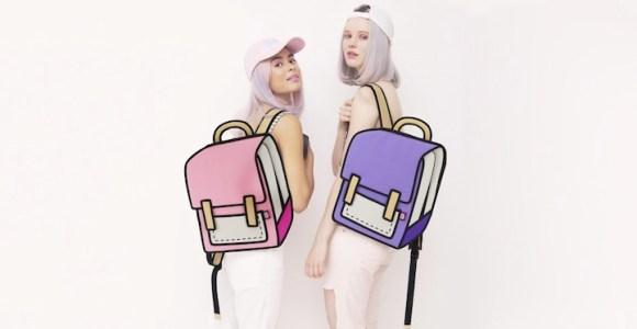 Acredite, essas bolsas são reais, e não são apenas desenhos!