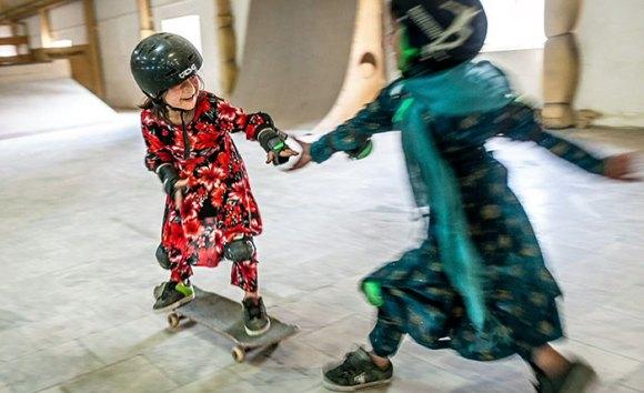 Garotas Skatistas Afeganistão 7