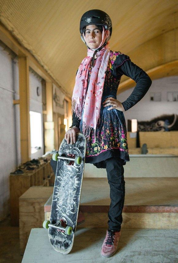 Garotas Skatistas Afeganistão 9