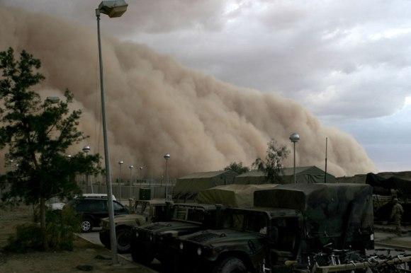 Tempestade de areia 9