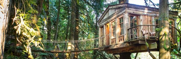 Treehouse Point – Estados Unidos.