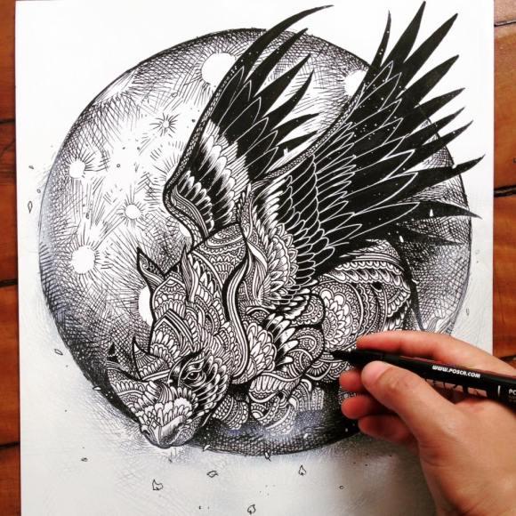 Ilustrações de artista brasileiro 13