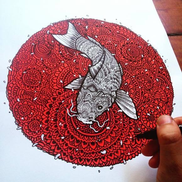 Ilustrações de artista brasileiro 3