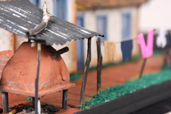 Miniaturas de cenários mineiros - maquetes de Minas Gerais 10