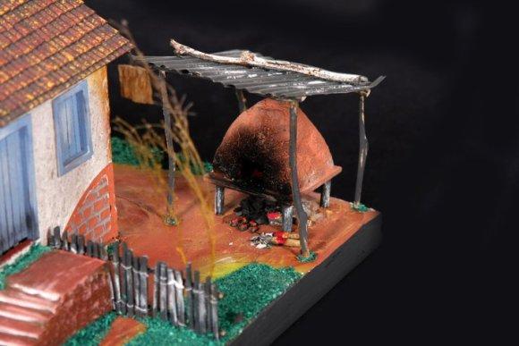 Miniaturas de cenários mineiros - maquetes de Minas Gerais 2