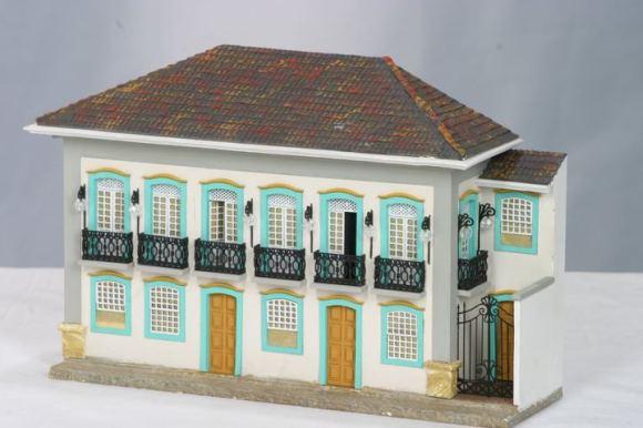 Miniaturas de cenários mineiros - maquetes de Minas Gerais 8