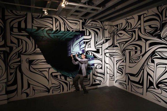 Grafite 3D parece portal 11