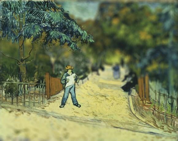 Van Gogh em tiltshift 2