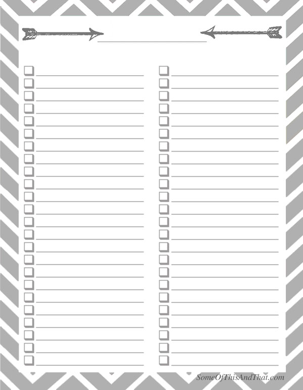 Checklist Template With Boxes | Sample Cover Letter For Academic