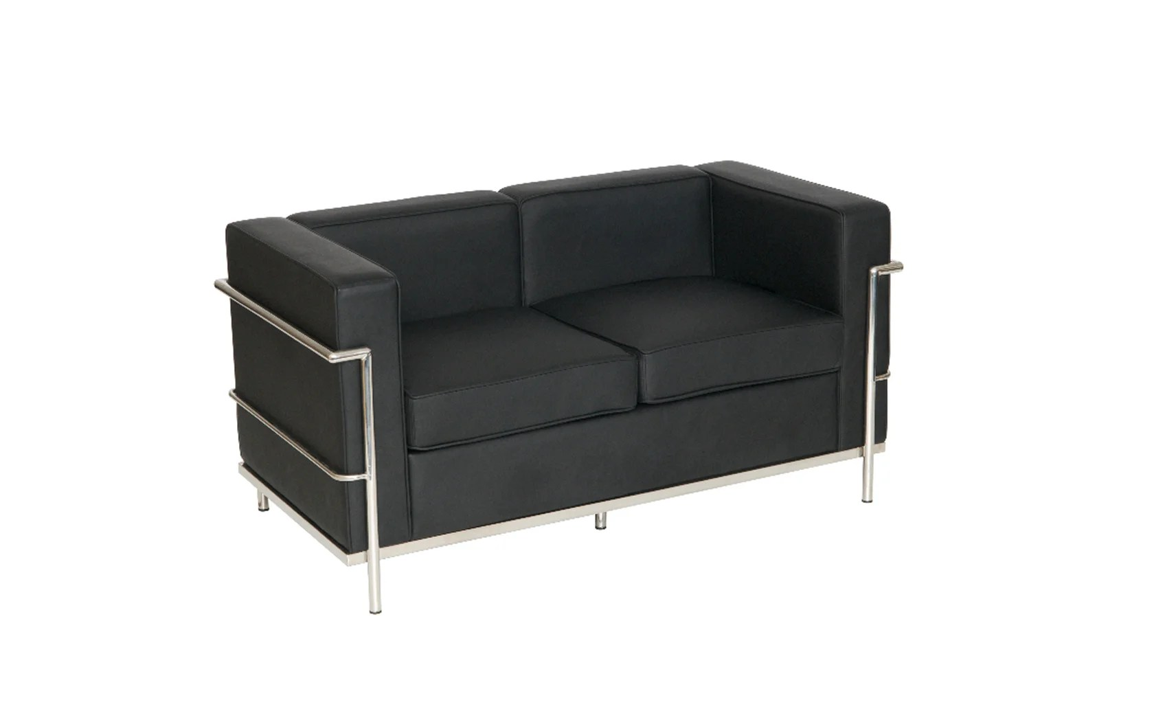 Sofa Le Corbusier Le Corbusier Style Two Seater Sofa (sj009-2) - Somercotes ...