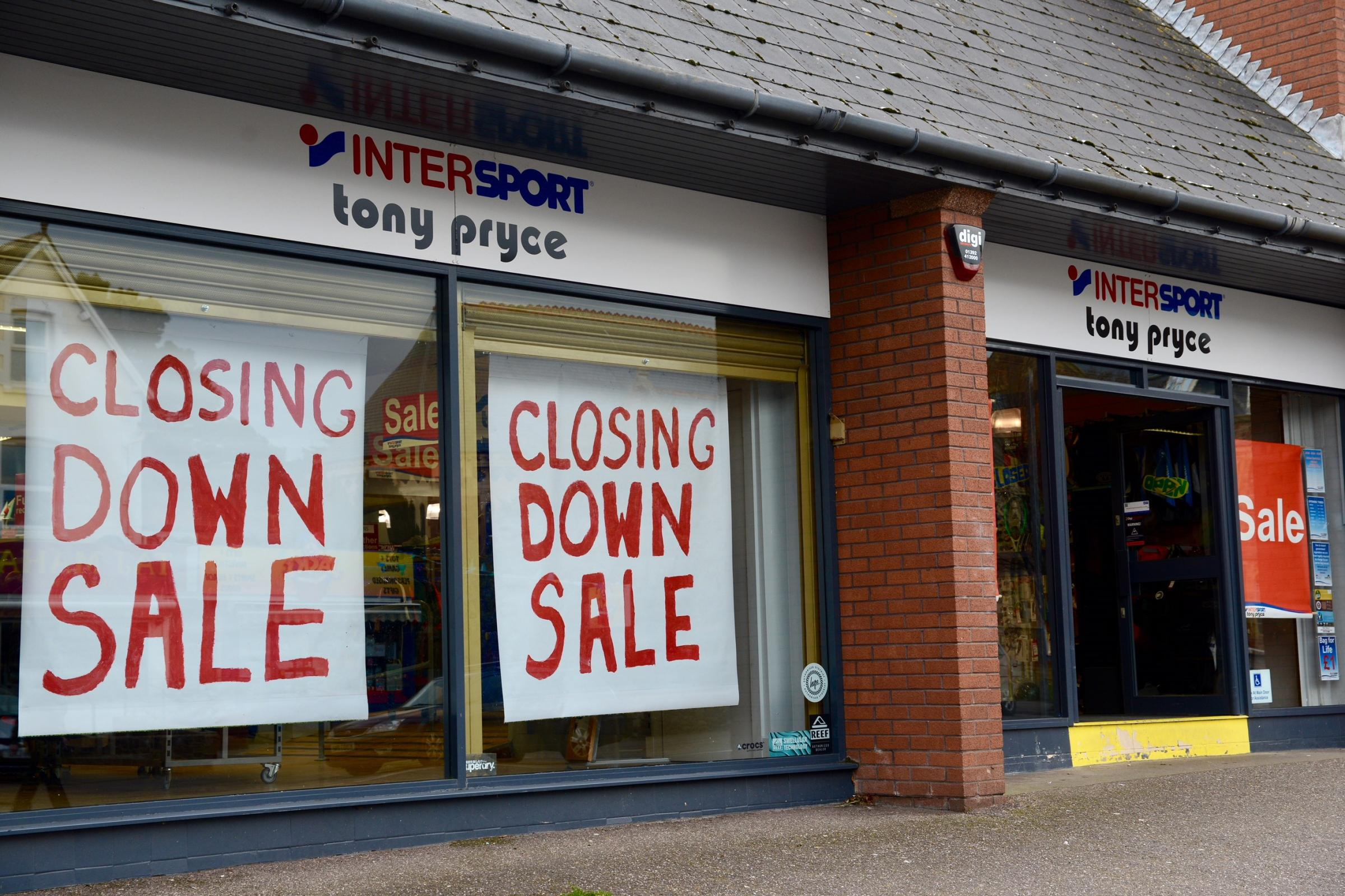 Intersport Salon Tony Pryce Sports Shop In Minehead Set To Close After 40 Years Of