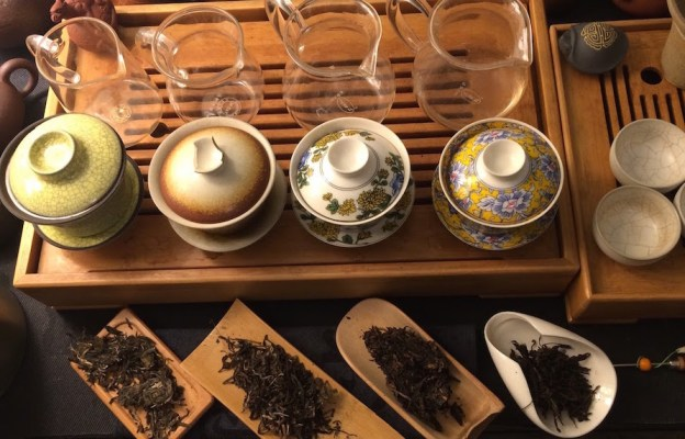 sheng-tasting-setup