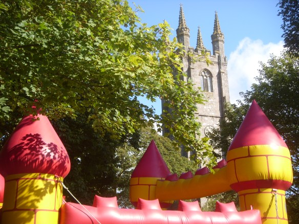 a glorious day for Widecombe Fair - 8th. September 2015...