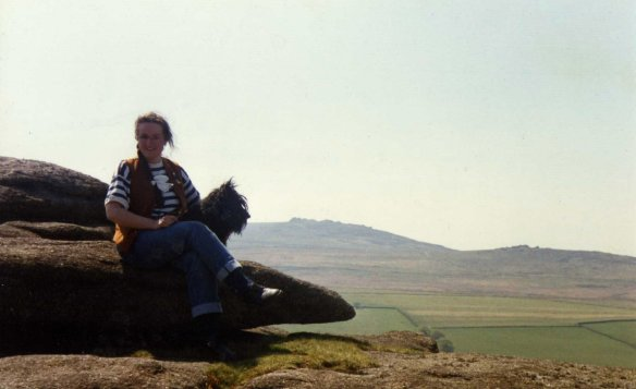 On top of the world - on Dartmoor