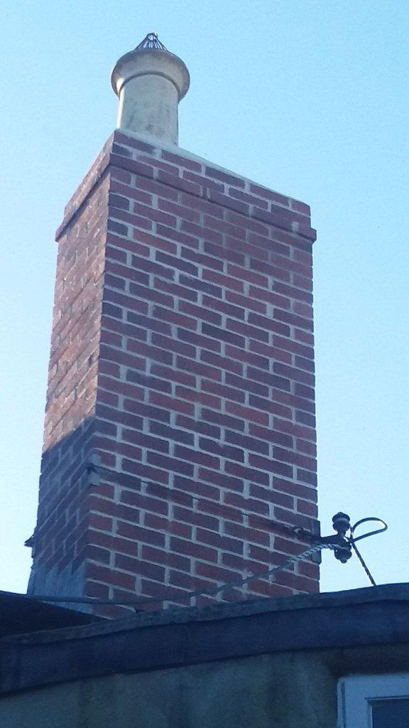 Glen's chimney.