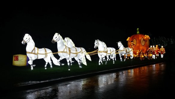 Festival of Light at Longleat - Grimm's Fairy Tales.