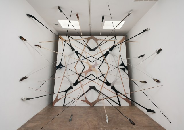 Martin Soto Climent, Frenetic Gossamer, Michael Benevento, 2011 (via Martin Soto Climent)