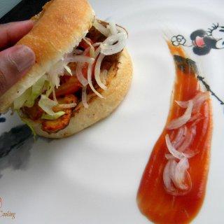 Roast Chicken Burger2