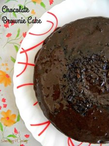 Chocolate Brownie Cake without Oven