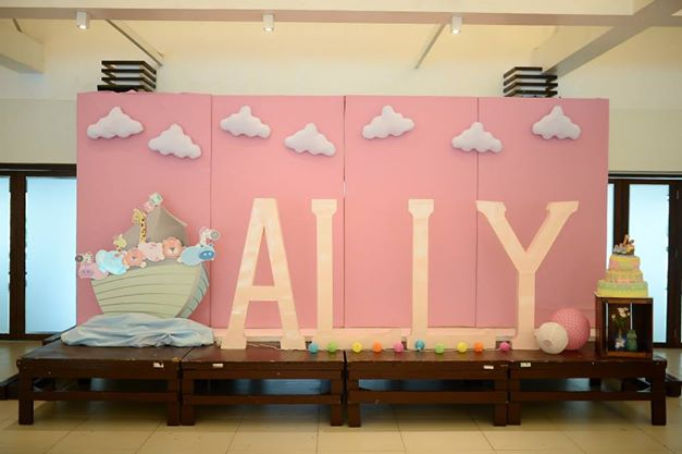 Table Of 4 Event Styling | Ally's Christening | Something Pretty Manila