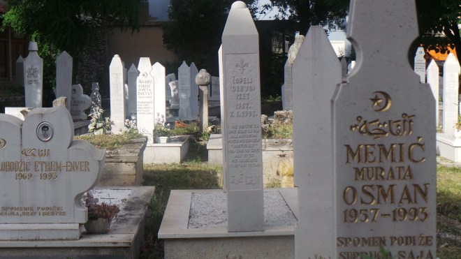 Sarajevo - The city of graveyards