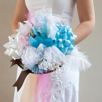 DIY | bridal shower ribbon bouquet