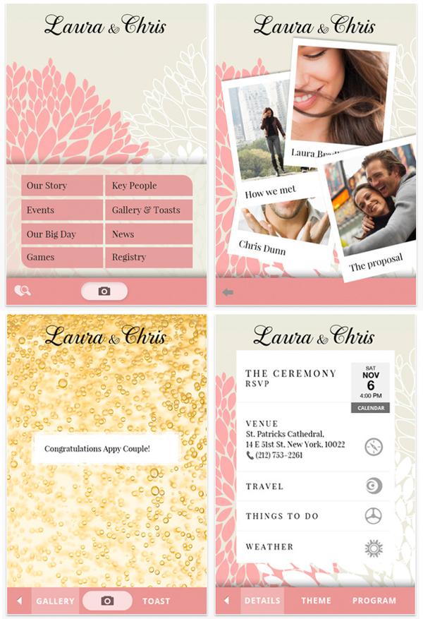 wedding table planning app