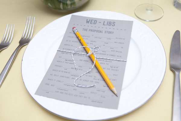 Click here for 3 darling and free wedding Mad Libs printables!