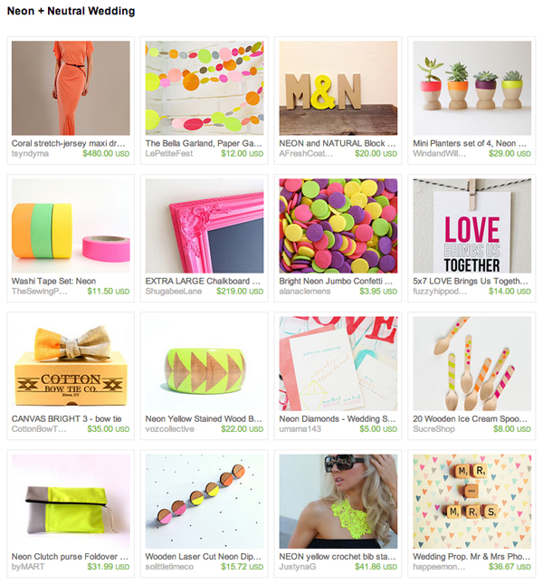 ST_Neon_Etsy_Treasury