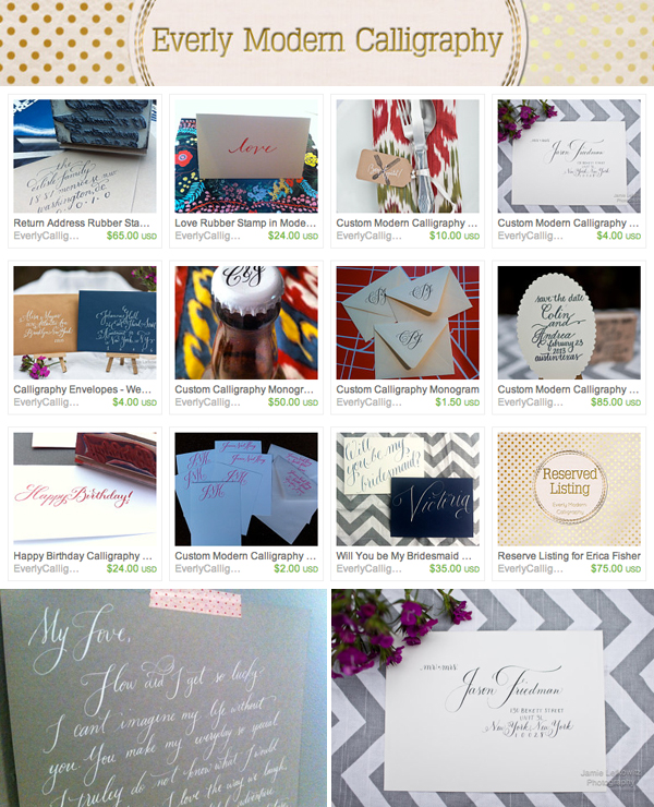 ST_Etsy_Wedding_Calligraphy_Everyly