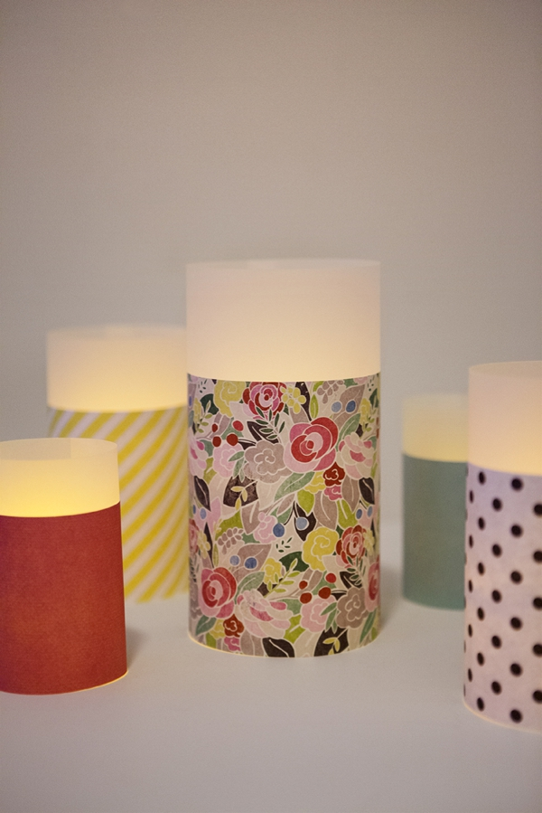 how to make simple paper lanterns